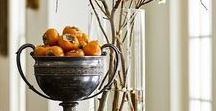 Styled vignettes / How to accessorize small areas for maximum impact