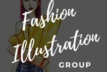 Fashion Illustration Group / Welcome to fashion illustration group board, a place to share your own fashion illustrations as well as anything related to fashion illustration. (No spam or advertising and any inappropriate pins will be removed). Request here to join this group: https://sewingnpatterns.com/fipg