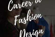Career in Fashion / fashion, career, inspiration, design, at home, homes, fashion design, fashion career