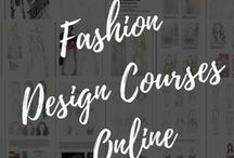 Fashion Design Courses Online / Fashion designing, fashion design courses online, free fashion courses, fashion design online, career in fashion design, sewing, textile design, pattern making, fashion illustration, garment construction, surface ornamentation, dress design, clothing line, fashion boutique
