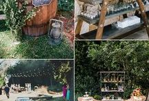 Rustic Outdoor Wedding / Rustic outdoor wedding ideas from wood pallet signs to rustic barns. Rustic wedding ideas galor!