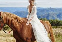 Whimsical Bridal Dresses / Bridal Dresses that are full of whimsical character.