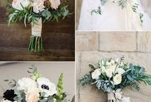 Whimsical Wedding Flowers / Flowers that go with pastel dresses or a wedding theme that is full of color.