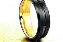 Mens Wedding Rings / Handcrafted men's wedding rings. A mix collection of modern men's wedding rings and classic wedding rings.