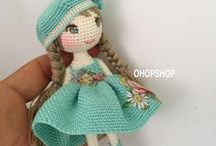 Crochet Doll & Doll Clothing Patterns / Patterns for Crocheted Dolls and Doll Clothing
