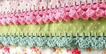 Crochet Borders and Edgings / Patterns and instructions for crochet borders and edgings.