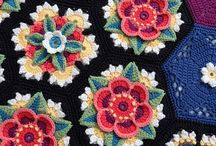 Crochet flowers / Patterns and inspirations for crochet flowers