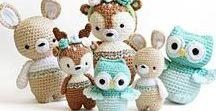 Crochet Animals / Patterns for Crocheted animals
