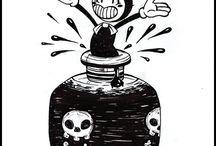 The (cute) ink demon