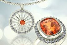 Bijuterii / Bijuterii din aur si cristale swarovski sau pietre pretioase naturale.