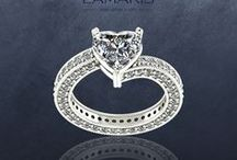 Inele Logodna / Inele de logodna din aur si cristale swarovski sau pietre pretioase naturale.
