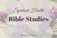 Bible Studies for Spiritual Health / Give these bible studies a go and you are sure to love them
