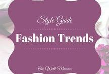 Style Fall Fashion Trends / Fashion ideas for fall and winter