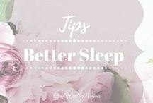 Better Sleep / Looking for tips to get better sleep? This board is full of sleep remedies to have you snoozing away.