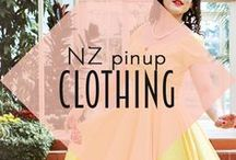 NZ Pinup Clothing / The best pinup and vintage inspired clothing made by local New Zealand designers!