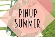 Pinup Summer / Inspiration for the perfect pin up summer - vintage style, tropical vibes and cute kitsch decor.