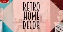 Retro Home Decor / Retro, vintage and atomic home decor inspiration!