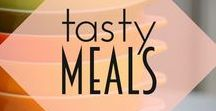 Tasty Meals / Tasty meals from the past and present for modern cooks and vintage gals.  Everything from pie like your grans to 20 minute meals!