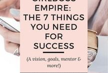 Female Entrepreneur Tips and Strategies / A roundup of the best strategies to propel female entrepreneurs to the next level in business and their brand