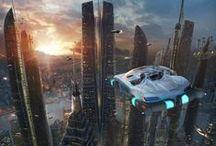 F: Sci Fi Places