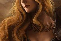L: Fantasy Character Portrait