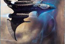 F: Sci Fi Ships