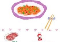 The Drawn Chinese Recipes