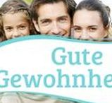 Gute Gewohnheiten / Gute Gewohnheiten und Ernährungsgewohnheiten für Diäten, Allergien, Diabetes, Bronchitis und Asthma.