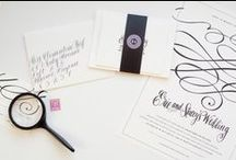 Invitation & Stationery Design / by Maureen Price