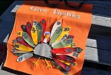 Thanksgiving! / Thanksgiving And Fall Crafts. Recipes. Ideas. / by Jessica Medina