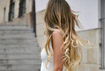 Hair, hair color, hairdo / by Priis García