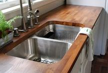 The Great Kitchen Remodel / Collecting the best ideas for kitchen remodel - for when we can no longer put it off! / by moogly
