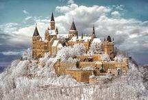 Castles. / by Mokkie Hamrer