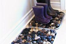 Craft Art- Tiles- Glass- Rocks / by Linne Rund