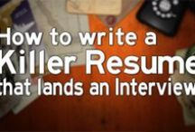 Education Write- Organize Papers- Job Resume- Interviews- Business Info- / by Linne Rund