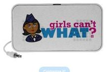 Girls Can't WHAT? Airforce Girl / The coolest place for Airforce Girls and the famous Girls Can't WHAT? gifts that you can choose from to have and to give.