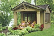 Coastal Cottage Comforts / Think small, cozy cottage.  / by Barbara Mansfield