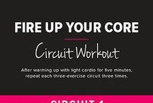 Fitness: Circuit Exercise Routines / Ideas for creating a circuit exercise routine.
