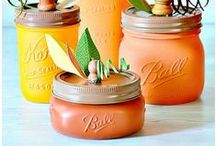 Fall DIY Crafts & Decor Ideas / Get in the mood for fall with these great DIY craft projects and decorating ideas