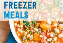 Recipes: Make Ahead Meals / Save time and money with these make ahead meal ideas and recipes!