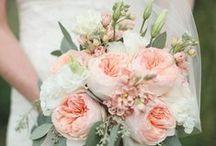 Wedding Bouquets - Peach