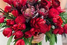 Wedding Bouquets - Red