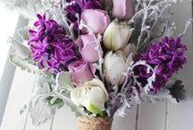 Wedding Bouquets - Purple