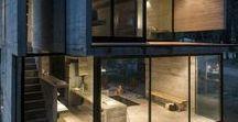 CONCRETE // HOME / #home #interiordesign #concrete