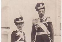 Romanov Family - Nicholas & Alexei
