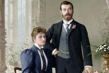 Nicholas II & Tsaritsa Alexandra Informal