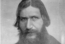 Father Grigory Rasputin 1869-1916 / The Imperial Family's mystic, healer, spiritual teacher and friend.
