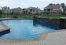 $40k - $50k Swimming Pool Designs / Custom swimming pools, designs, and features price ranges $40,000 to $50,000