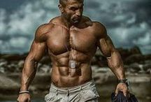 Inspirational Gym Goers / Hot and sexy fitness and health models.