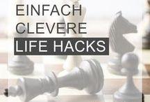 LIFE HACKS / Geniale Tipps und coole Life-Hacks, um dir deinen Alltag zu erleichtern - ob im Büro oder zuhause. Damit du dich voll auf die Karriere konzentrieren kannst und deine Zeit nicht mit Unnötigem verschwenden musst
